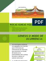 Rocas Igneas Volcanicas