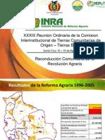 INRA TierrasBajas Estado de Avance 15 Agosto 2012 2