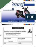 VX 150 IMPO- Manual Del Propietario