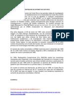 Historia de la penetración del internet en Costa Rica y el mundo