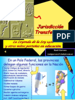 Juris Di Cc i on Trans Federal