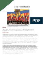 Los Valores de Los Colombianos