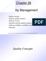Pressman Quality Management