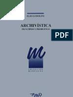 Archivistica, Principios y Problemas
