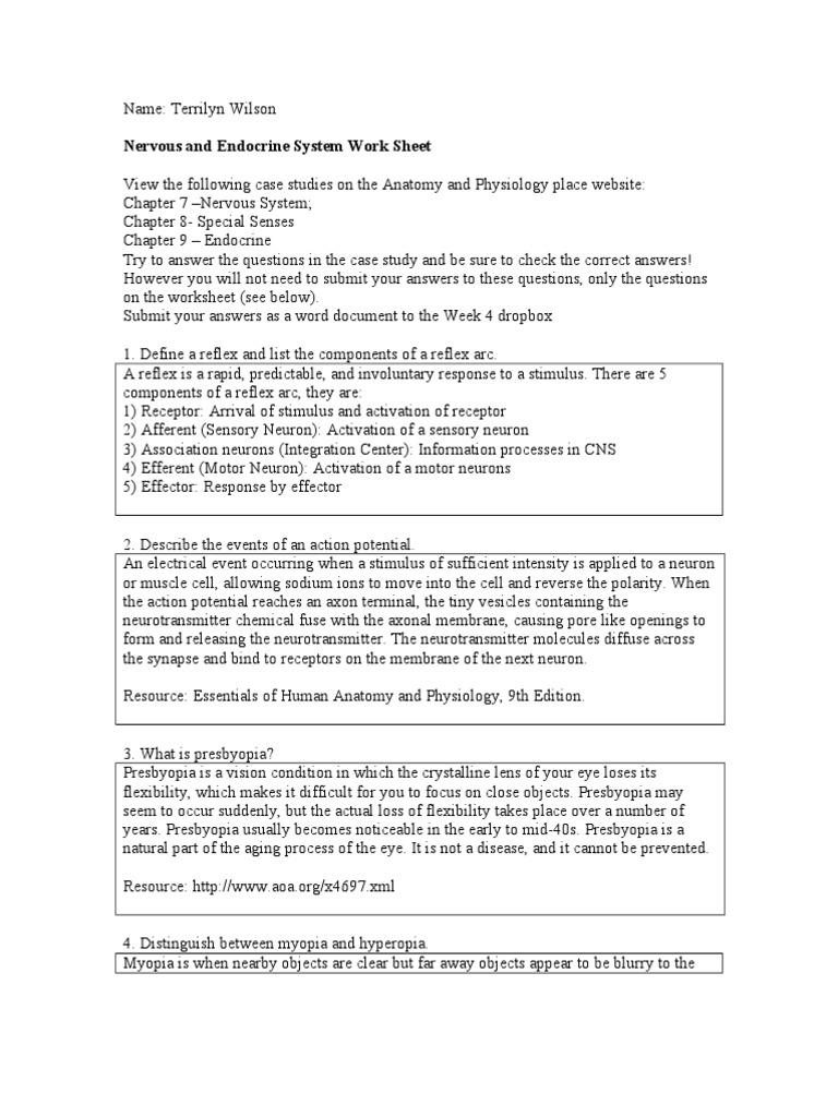BIOS105_TerrilynWilson_Lab4 | Stimulus (Physiology) | Neuron