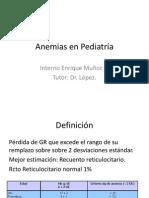 Anemias en Pediatría