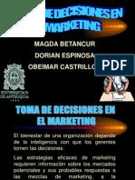 Toma de Decisiones en El Marketing