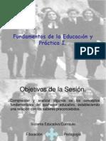 Fundamentos de la Educación 1.
