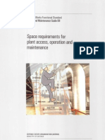 Design and Maintenance Plant Space Requirements
