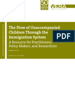 The Flow of Unaccompanied Children Through the Immigration System