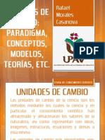 Unidades de Cambio Paradigma, Conceptos, Modelos, Teotias, Etc