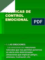 Tecnicas de Control Emocional