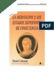 Daniel Goleman - La Meditacion y Los Estados Superiores de Conciencia