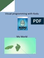 Visual Programming With Kodu ICT