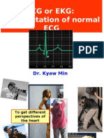 Interpretation of Normal ECG *medical