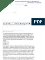 Ivermectina en caninos_ Nuevo protocolo terapéutico tratamiento contra parasitos_ sarna sarcoptica y demodesica, Perros