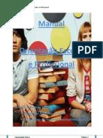 Manual - Orientação Escolar e Profissional