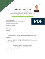 Curriculum - Carlos