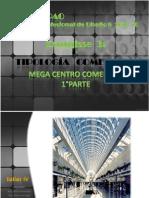 FAUA UPAO Taller 8 - Esquisse 2  1° parte Tipología Mega Centro Comercial
