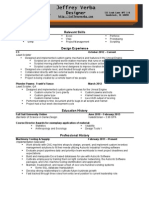 JeffreyVerba Resume Color
