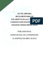 Ley Amparo