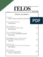 Adorno στην Αμερική