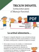 Malnutrición infantil  Orientaciones para el manejo parental.