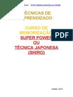 (APOSTILA) Memorização Super Power www.iaulas.com.br