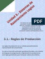 3.1.- Reglas de Produccion