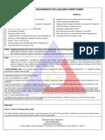 A Ep Checklist