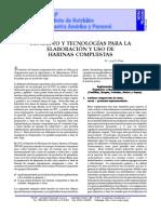 Elaboración y Uso de Harinas