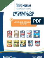 Infor Nutricional Nestle