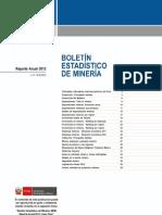 Boletin - Reporte Anual 2012