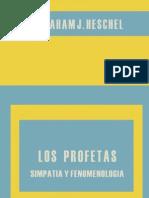 Heschel Abraham J - Los Profetas 03 - Simpatia Y Fenomenologia