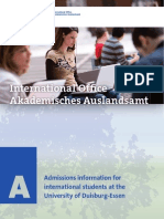 Brochure Admissions
