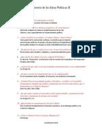 Cuestionario Final Historia de Las Ideas Politicas II