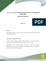 TABLAS DINÁMICAS Y UTILIZACION DE MACROS