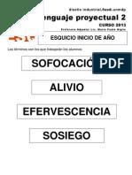 LP2 00 clase 2 ESQUICIO Términos 2013