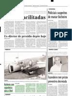 2002.05.08 - Acidente com cegonheira pára o Anel - Estado de Minas