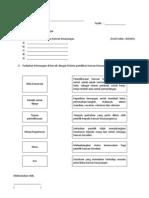 Soalan Evidens B1D6E1 Dan B2D5E1 (KHB Pertanian Tingkatan 2)