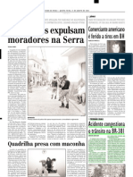 2002.08.15 - Acidente congestiona o trânsito na BR-381 - Estado de Minas