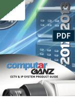 Ganz  & Computar Catalog 12-13_V1.1