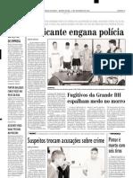 2002.10.31 - CAMINHÃO CONGESTIONA O TRÂNSITO - Estado de Minas