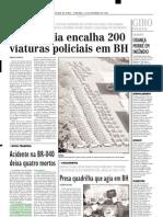 2002.11.10 - Acidente No Km 642 Da Rodovia BR-381 Mata Quatro Pessoas - Estado de Minas