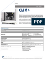 Cambium Networks CMM4 Specification