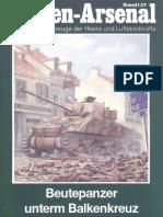 Waffen.arsenal.137.Beutepanzer.unterm.balkenkreuz.amerikanische.und.Englische.kampfpanzer