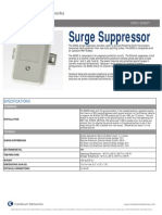 Cambium Networks Surge Suppressor Specification