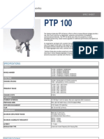 Cambium Networks PTP 100 Specification