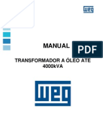 WEG Transformadores a Oleo Instalacao e Manutencao 10000892317 12.10 Manual Portugues Br