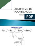Algoritmo de Planificacion